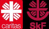 logo-caritas und SkF
